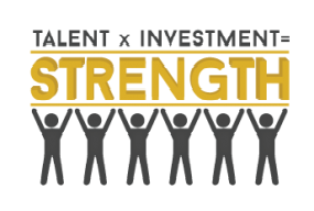 Talent x Investment = Strength